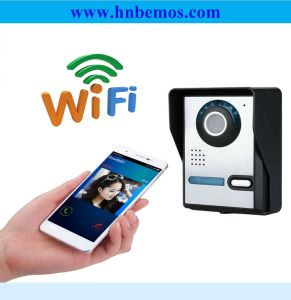 Hottest Wireless WiFi Video Door Phone with Two-Way Intercom System pictures & photos