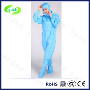 ESD Antistatic Jumpsuit/Coverall with Cap (EGS-22) pictures & photos