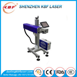 CO2 Flying Laser Marking Machine on Food Plastic Package Automatically pictures & photos