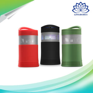 Super Bass wireless Bluetooth Portable Speaker with Colorful LED Light pictures & photos