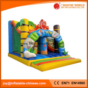 PVC Tarpaulin Inflatable Slide Bouncer Combo (T3-530) pictures & photos