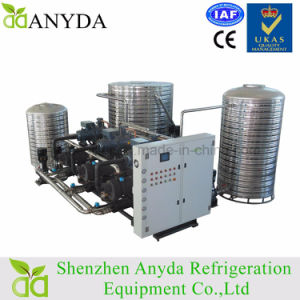 Water Cooled Screw Glycol Chiller with Heat Recovery for Milk Cooling pictures & photos