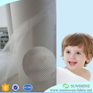 Hydrophilic/ hydrophobic Non woven fabric for diaper pictures & photos