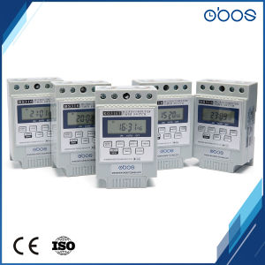 Built-in Battery Programmable 10 Times on off Per Day 12V Timer Switch pictures & photos