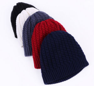 Cool Winter Colorful Acrylic Knitting Hats pictures & photos