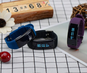 IP68 Sport Heart Rate Blood Pressure Smart Bracelet pictures & photos