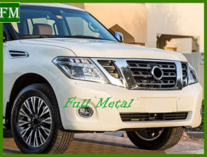 for Nissan Patrol Y62 2014 Sliver Front Grille with Camera pictures & photos