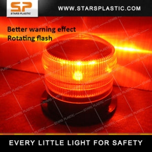 LED Rotating Flashing Solar Beacon Light with Magnet pictures & photos