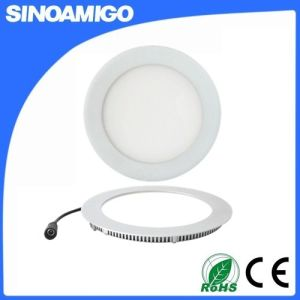 LED Panel Light 9W Ceiling Light Recessed Round Type pictures & photos