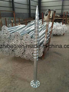 Solar Energy Mounting System Ground Screw Pile Anchor pictures & photos