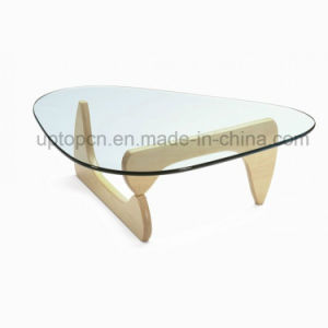 Special Shape Tempered Glass Cafe Restaurant Leisure Table (SP-GT417) pictures & photos