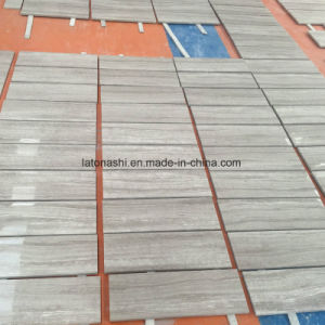 White Wood Grain Marble Tiles and Slabs for Floor pictures & photos