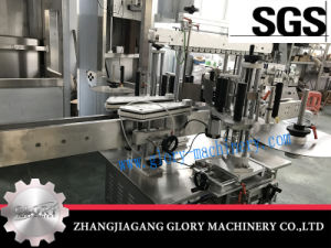 Automatic Round Wine Bottle Stick Labeling Machine pictures & photos
