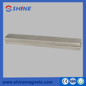 Strong Nickel Plated Sintered Neodymium Bar Magnet pictures & photos