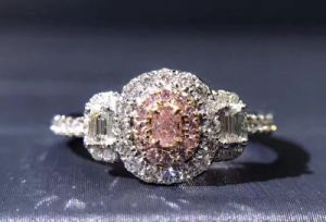 Eternity Setting Silver Ring with CZ pictures & photos