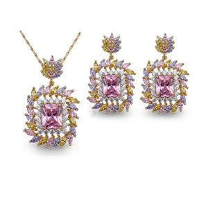 New Design Bali Women Wedding Shiny Zirconia Jewelry Sets pictures & photos