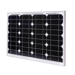 18V 40W Monocrystalline Silicon Solar Panel pictures & photos