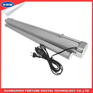Handing Electric Type of Aluminum Display Roll up Stand pictures & photos