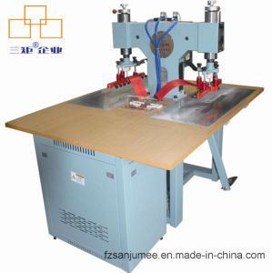 Cheap Pneumatic High Frequency Embossing Logo Machine for Leather/ Plastic Welding pictures & photos