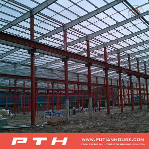 Pth Industrial Professional Designed Low Cost Steel Structure Warehouse pictures & photos