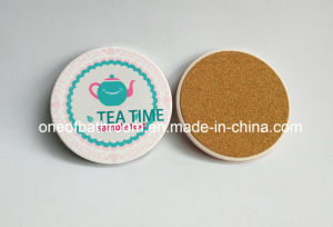 Heat Resistant Cup Mat Ceramic Cork Material pictures & photos