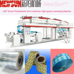 Qdf Series PVC Film High-Speed Lamination Machinery pictures & photos