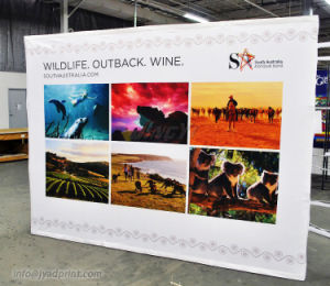 Tradeshow Backdrop Display Stretch Fabric Pop Up Stand With Printing Banner pictures & photos