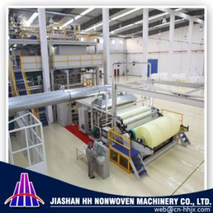 China Fine Quality 1.6m SSS PP Spunbond Nonwoven Fabric Machine pictures & photos