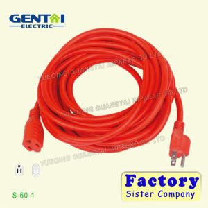 Good Quality Copper Wire Flat Wire Extension Cord pictures & photos