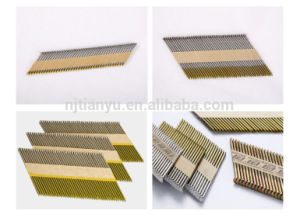 34 Degree Clipped Head Paper Strip Nails pictures & photos