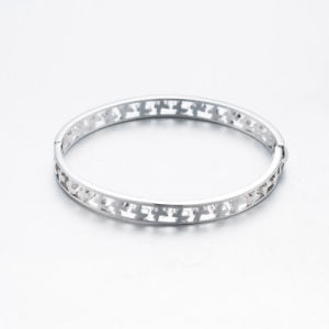 Fashion Butterfly Design Silver Bangle for Women pictures & photos