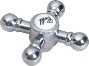 Faucet Handle in ABS Plastic With Chrome Finish (JY-3064) pictures & photos