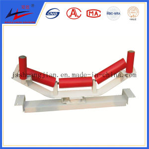 Double Arrow Brand Belt Conveyor Carrier Return Flat Idler pictures & photos