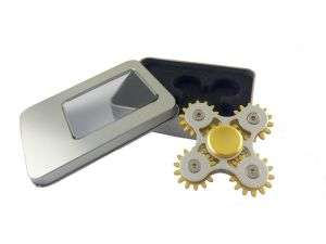 New Model Five- Gear Metal aluminum Bearing Hand Spinnner pictures & photos