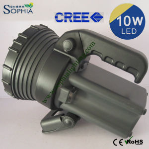 Good 10W Rechargeable LED Torch Light Made in Shenzhen China pictures & photos