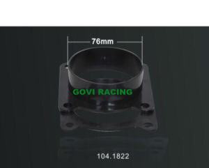 76mm Car Air Intake Adaptor CNC Machinery for Filter pictures & photos