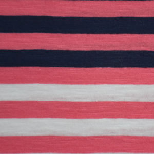 100%Cotton Yarn Dyed Stripe Slub Jersey pictures & photos
