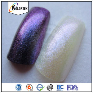 Color Shifting Nail Polish Pigment, Chameleon Nail Powder pictures & photos