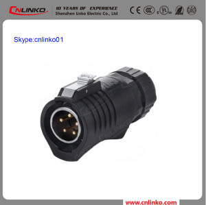 Made in China Cnlinko IP67 5pin Electrical Connector Male Plug for LED Screen pictures & photos