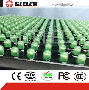 High Shining Outdoor Single Green LED Display Module pictures & photos