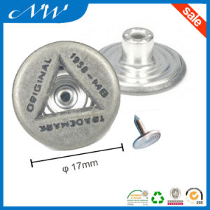 Top Quality Fashion Shank Buttons for Jeans pictures & photos