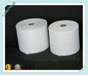 High Quality Pet Thermo-Bonded Nonwoven Fabric pictures & photos