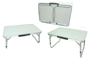 Quality Aluminum Compact Leisure Picnic Outdoor Folding Table (QRJ-Y-013) pictures & photos