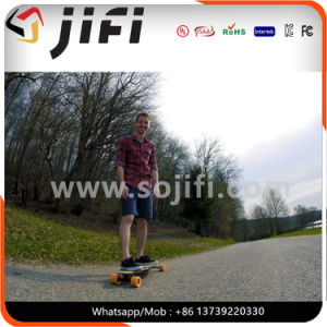 Longboard Max Speed 25km/H Sole Motor Electric Skateboard with Remote Control pictures & photos