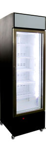 Guangdong Promotional Upright Freezer, Flash Single Glass Door Display Freezer pictures & photos