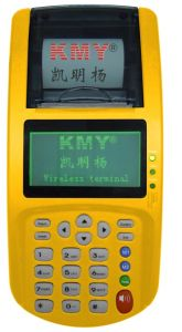 Kmy801d3 GPRS POS Terminal with Magstripe+Chip+Contactless Card Reader Writer pictures & photos