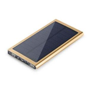 High Effeicient Portable Solar Power Bank with Slim Body Easy Carrying pictures & photos