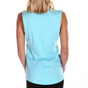 Wholesale Tank Tops Women 100% Cotton Tank Tops in Bulk pictures & photos