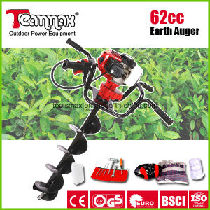 62cc Best Selling Easy Start Two Operations Big Power Earth Auger pictures & photos