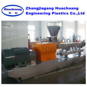 PA Granulating Used Twin Screw Plastic Pelletizer for Recycled Plastic pictures & photos
